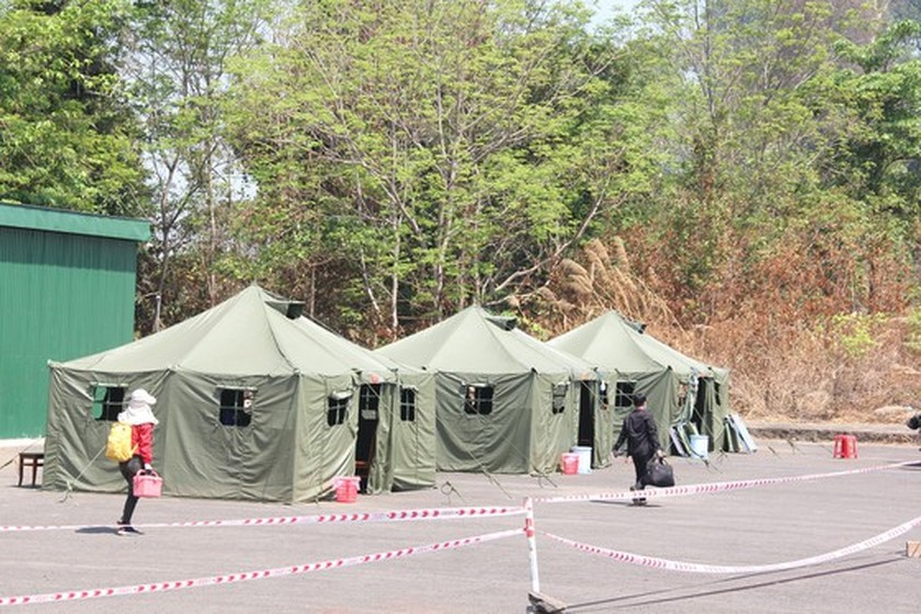 Border guard forces strive to control Covid-19  ảnh 2