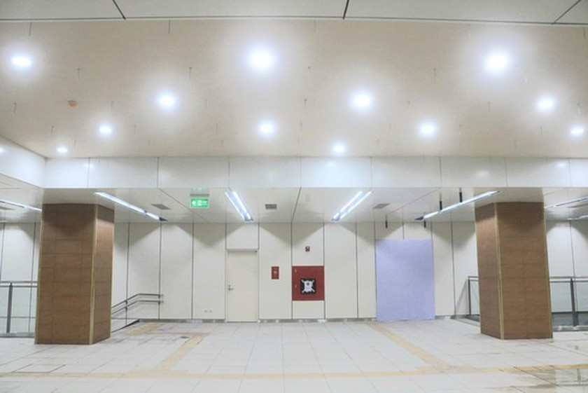 B1 basement of Opera House metro station built 140 days before schedule ảnh 3