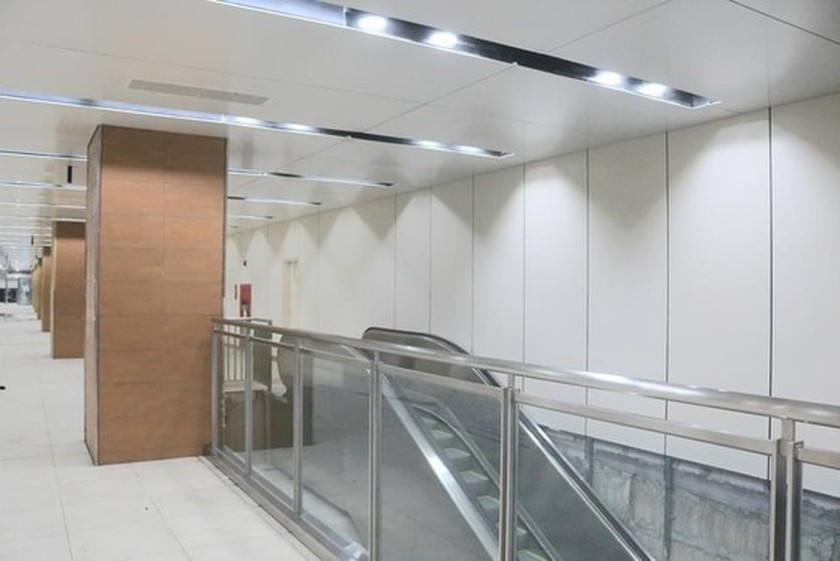B1 basement of Opera House metro station built 140 days before schedule ảnh 5