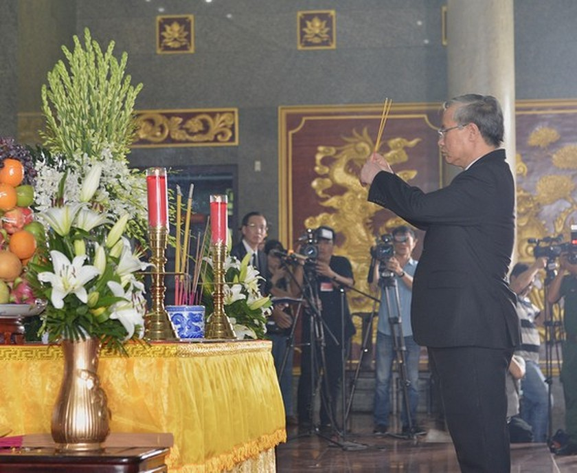 State funeral held in HCMC for former Party leader Tran Quoc Huong  ảnh 7