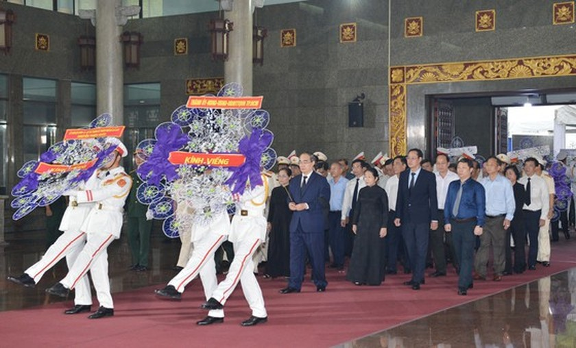State funeral held in HCMC for former Party leader Tran Quoc Huong  ảnh 1
