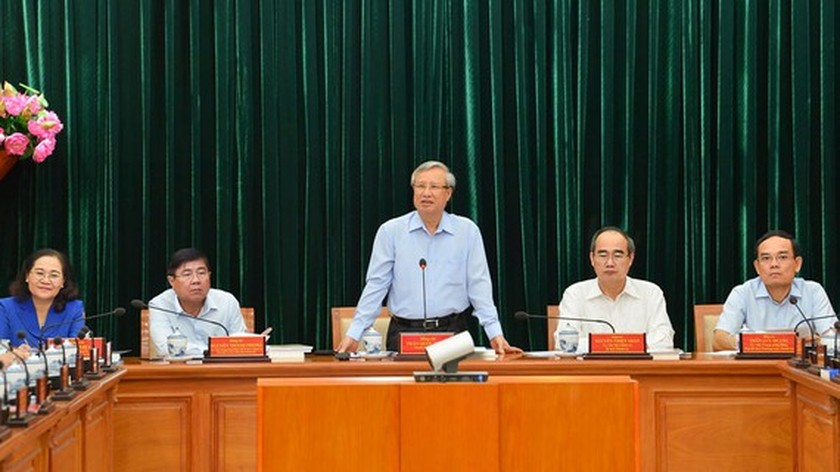 Science-technology must become main driving force in HCMC: Party Leader ảnh 1
