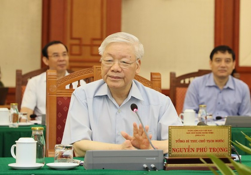 Party leader approves HCMC's preparations for 11th municipal Party Congress ảnh 1