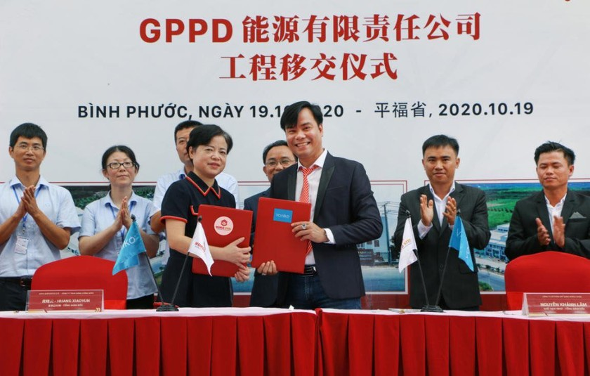 US$30 million GPPD energy battery factory comes into operation in Binh Phuoc ảnh 1