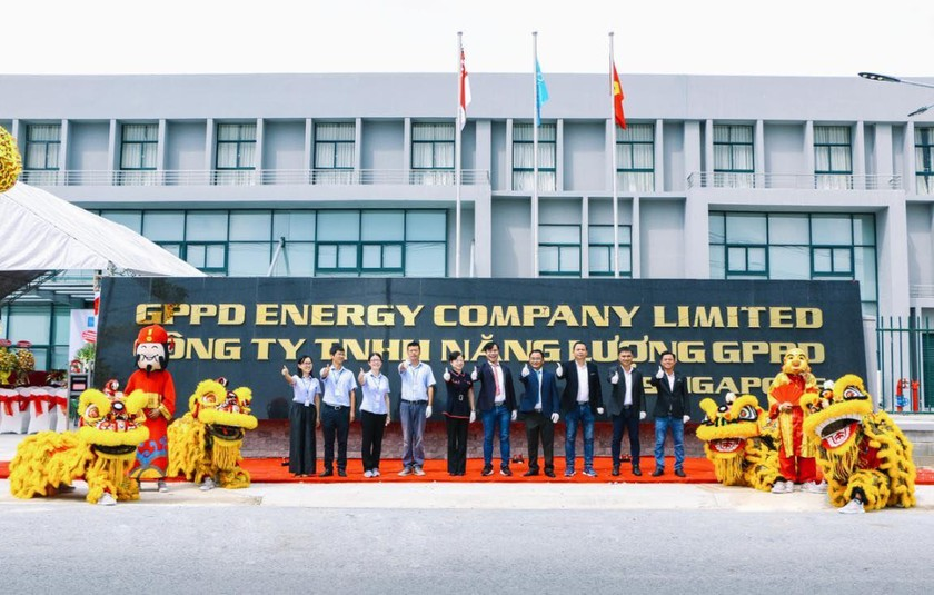US$30 million GPPD energy battery factory comes into operation in Binh Phuoc ảnh 2