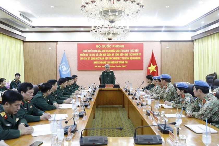 Vietnamese officer to work at UN peace operations department ảnh 1