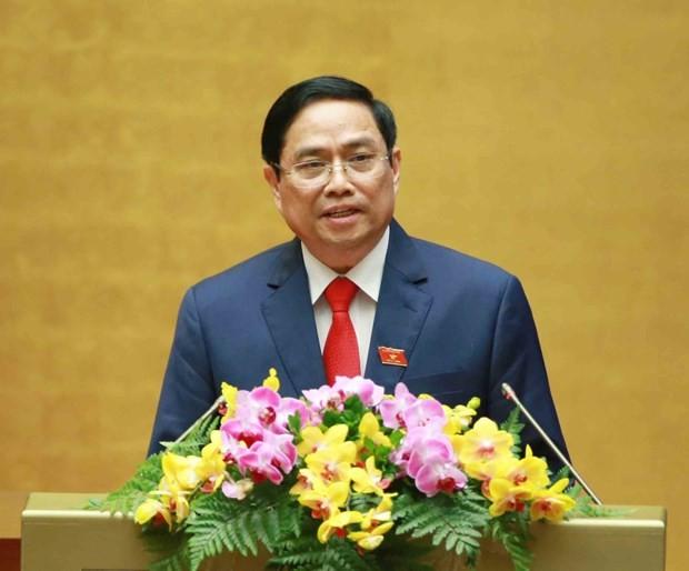 Pham Minh Chinh elected Prime Minister of Vietnam ảnh 1
