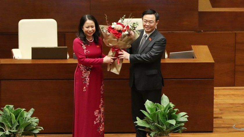 Vo Thi Anh Xuan elected Vice State President of Vietnam ảnh 1