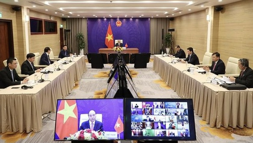 Remarks by President Nguyen Xuan Phuc at Leaders Summit on Climate ảnh 1