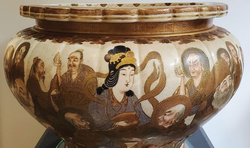 The eternal lure of Satsuma pottery from Japan ảnh 1