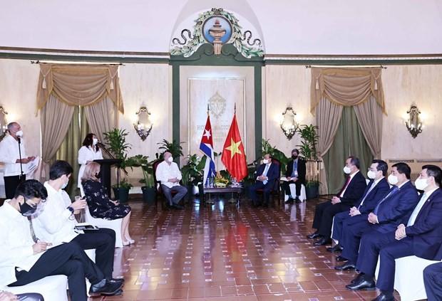 Vietnam to promote projects in Cuba's Mariel Special Development Zone: President ảnh 2