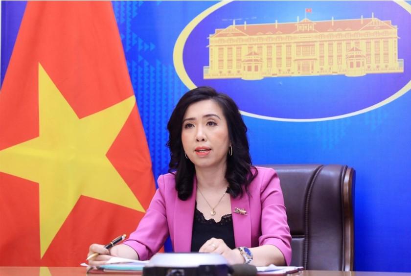 Vietnam keeps close watch on developments in East Sea: spokeswoman ảnh 1