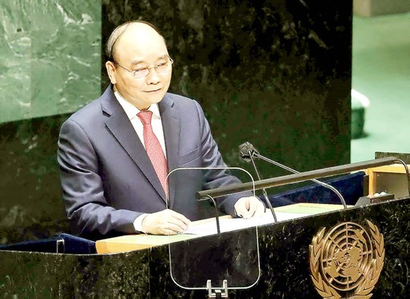 President raises proposals at UNSC's high-level open debate on climate security ảnh 1