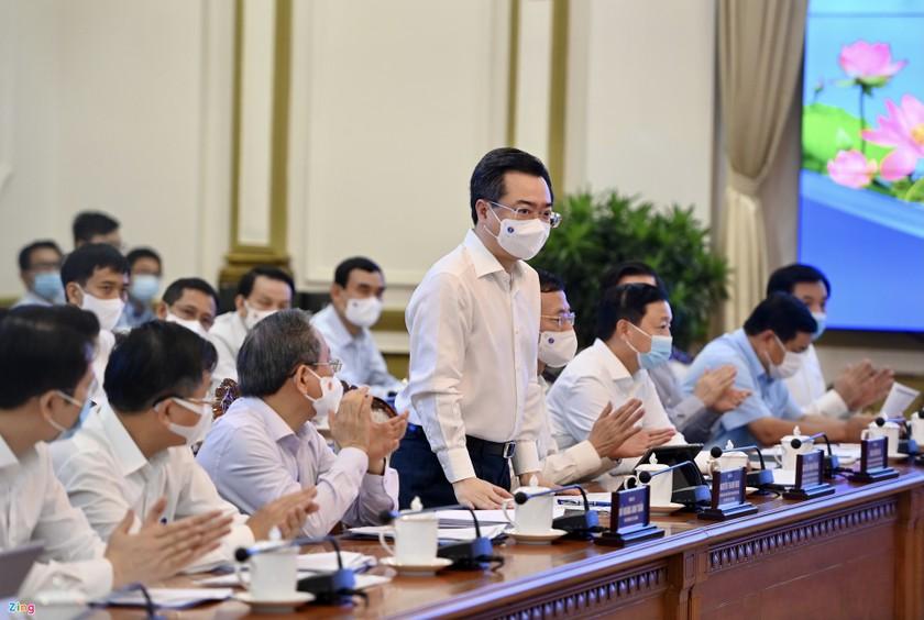Thủ tướng Phạm Minh Chính: Cương quyết không để dịch Covid-19 bùng phát ở TPHCM ảnh 4