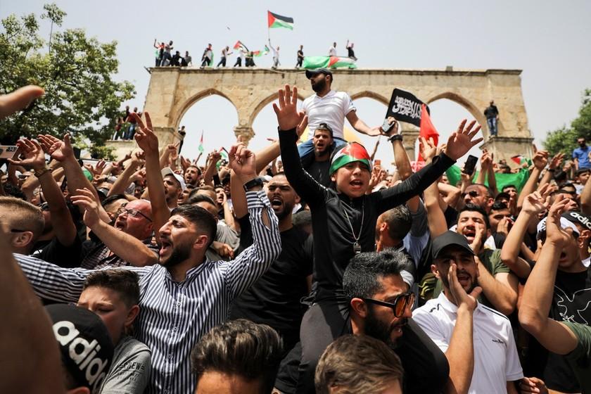 xung dot israel palestine anh 4