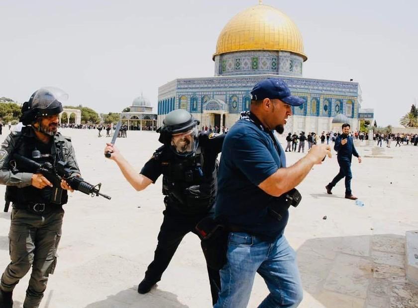 xung dot israel palestine anh 3