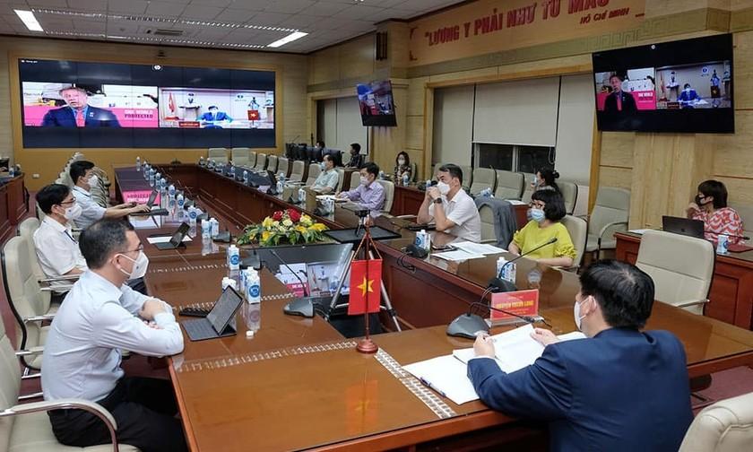 Việt Nam muốn xây dựng nhà máy vaccine Covid-19 ảnh 1