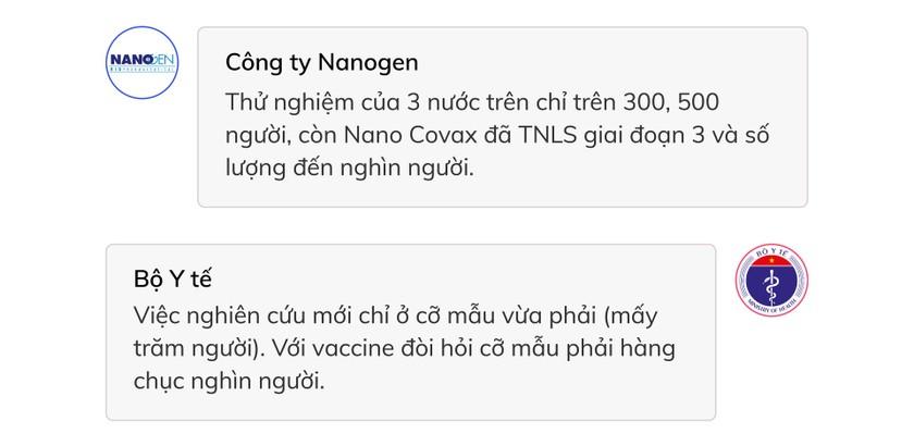 5 vấn đề cần làm rõ liên quan việc xin cấp phép khẩn vaccine Covid-19 Nano Covax ảnh 6