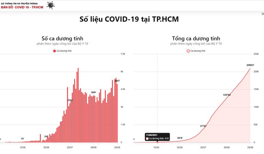 TPHCM đã đạt đến đỉnh dịch Covid-19? ảnh 1