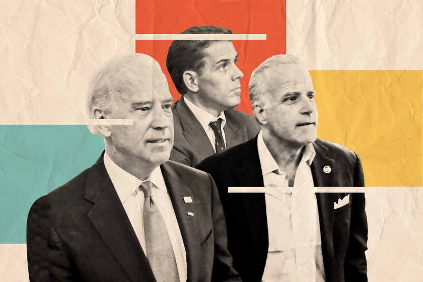 Sau con trai, em trai ông Joe Biden cũng bị