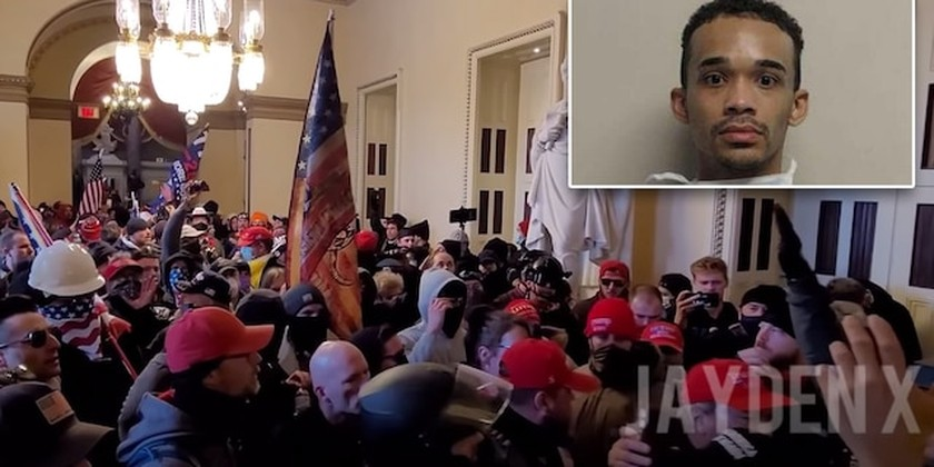 Twitter bans Trump, but left-wing activist charged in Capitol riot still active on platform ảnh 1