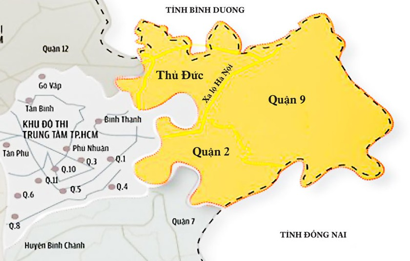 Khu đô thị sáng tạo phía Đông TPHCM: Những điều cần cân nhắc ảnh 1