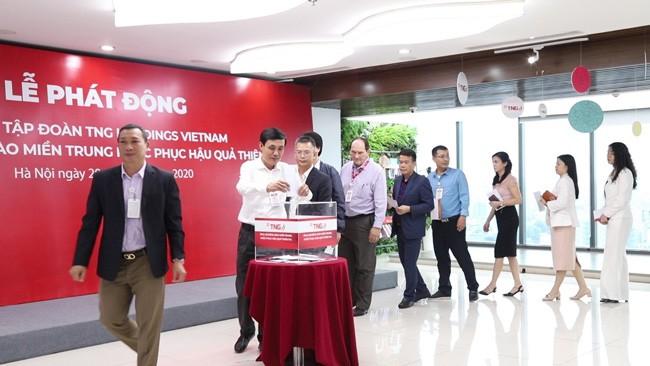 TNG Holdings Vietnam hỗ trợ 600 hộ dân miền Trung tái ổn định cuộc sống  ảnh 2