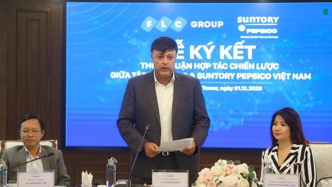 FLC và Suntory PepsiCo Vietnam ký kết hợp tác chiến lược ảnh 1