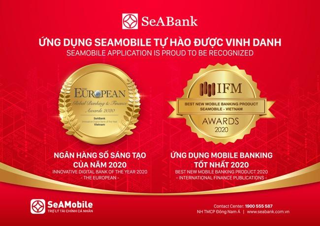 Ứng dụng ngân hàng số SeAMobile nhận nhiều giải thưởng uy tín ảnh 1