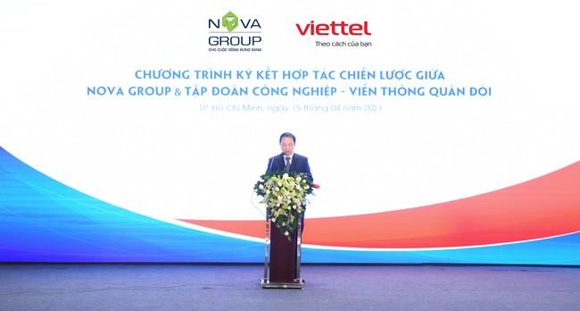 Novagroup và Viettel ký kết hợp tác chiến lược ảnh 2