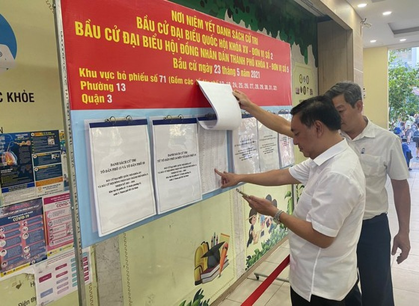 Technology effectively implemented for national election tasks in HCMC ảnh 1