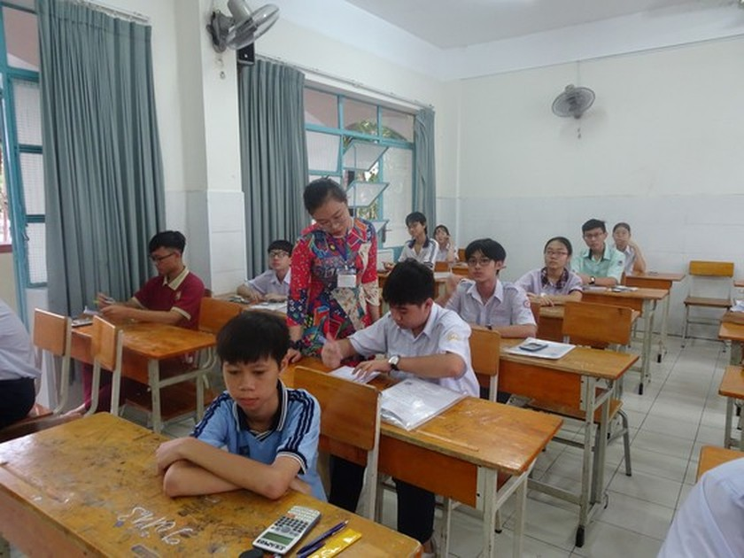 Senior-high school entrance exam in HCMC to have content adjustment ảnh 1