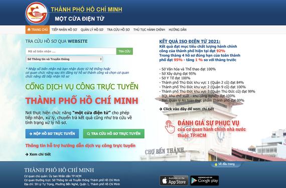 HCMC DoIC delivers all level-4 public services online ảnh 1