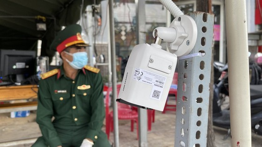 Camera system to scan documents piloted at Covid-19 checkpoints  ảnh 4