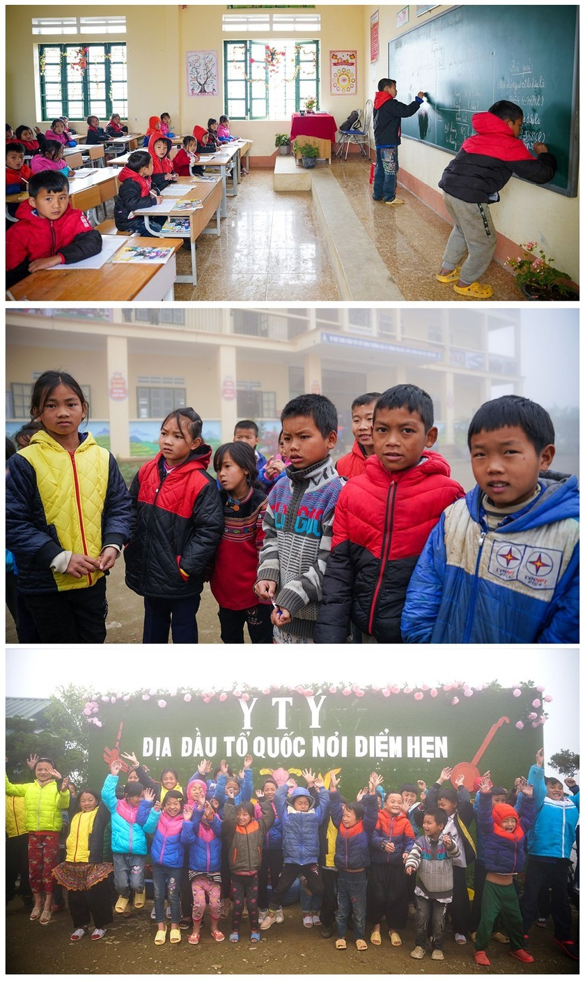 """Rhododendron school"" a tourism hit in Lao Cai ảnh 12"