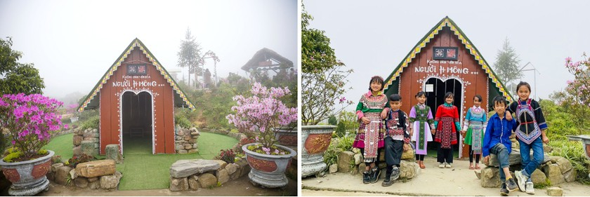 """Rhododendron school"" a tourism hit in Lao Cai ảnh 6"