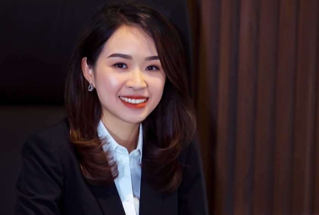 Chân dung nữ chủ tịch trẻ nhất hệ thống ngân hàng Việt Nam ảnh 1