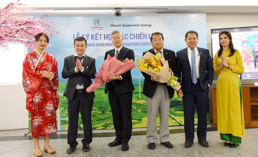 Hitachi SE buys over 35 percent of stake in Trung Nam Group's wind farm ảnh 1