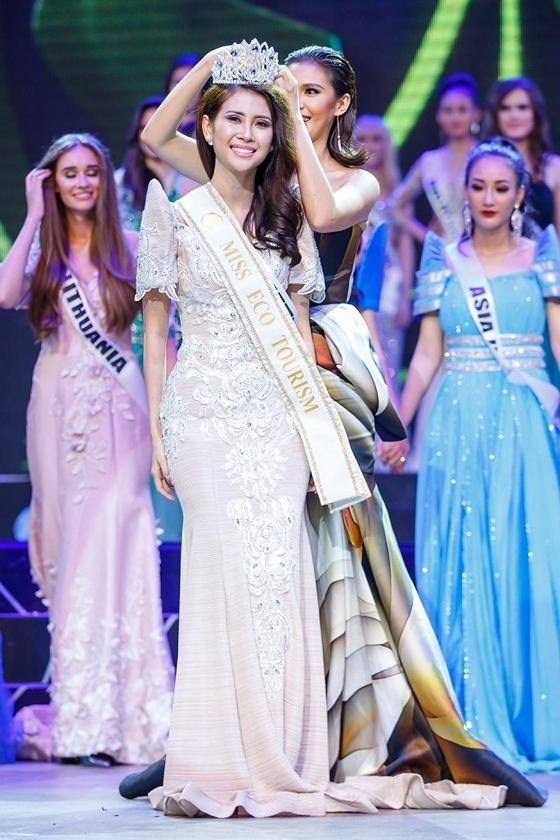 Liên Phương đoạt ngôi vị Á hậu 1 cuộc thi Hoa hậu Đại sứ Du lịch Thế giới ảnh 1