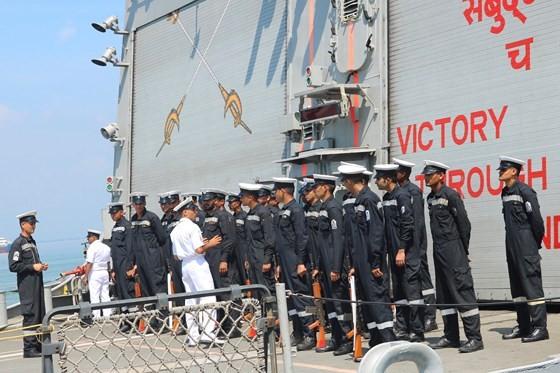 Hạm đội miền Đông Ấn Độ sẽ diễn tập hàng hải chung với Hải quân Việt Nam ảnh 9
