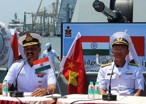 Hạm đội miền Đông Ấn Độ sẽ diễn tập hàng hải chung với Hải quân Việt Nam ảnh 4