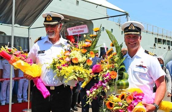 Đội tàu Hải quân Hoàng gia Canada thăm Đà Nẵng ảnh 3