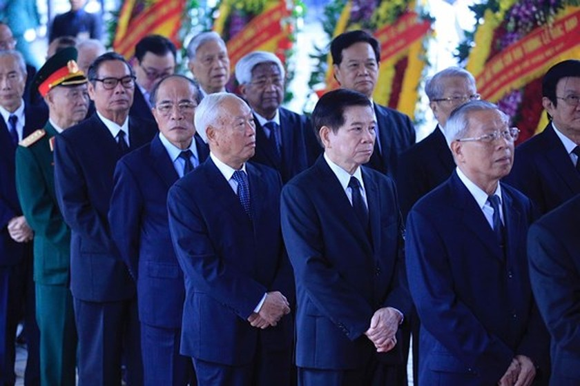 Memorial service of the State funeral for former President General Le Duc Anh ảnh 13