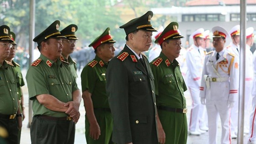 Memorial service of the State funeral for former President General Le Duc Anh ảnh 21