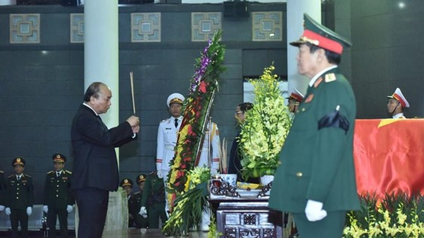 Memorial service of the State funeral for former President General Le Duc Anh ảnh 24