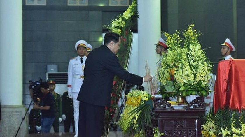 Memorial service of the State funeral for former President General Le Duc Anh ảnh 25