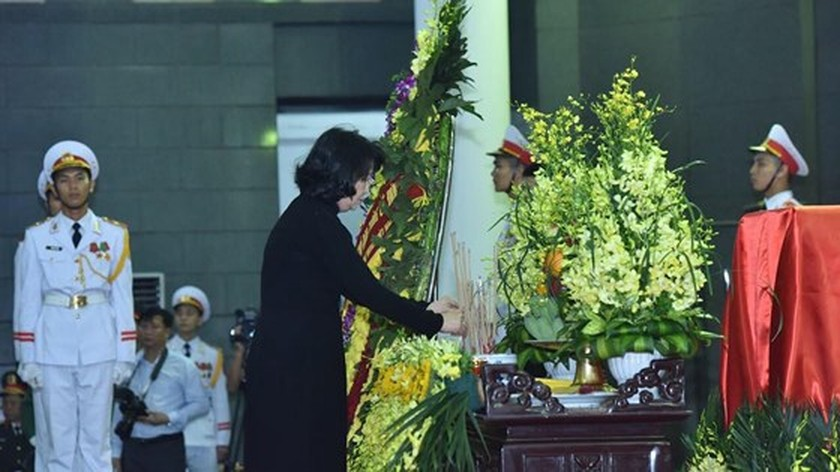 Memorial service of the State funeral for former President General Le Duc Anh ảnh 26