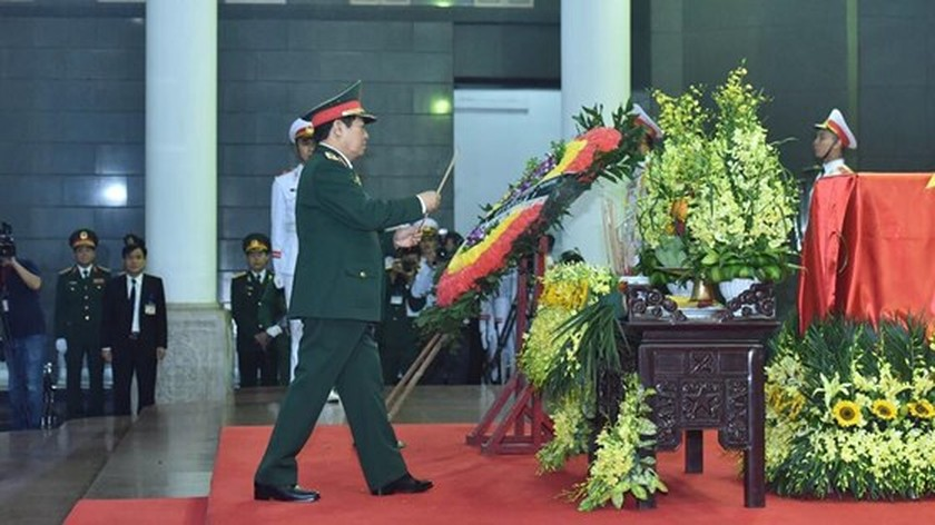 Memorial service of the State funeral for former President General Le Duc Anh ảnh 28