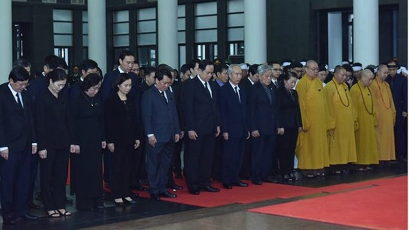 Memorial service of the State funeral for former President General Le Duc Anh ảnh 30
