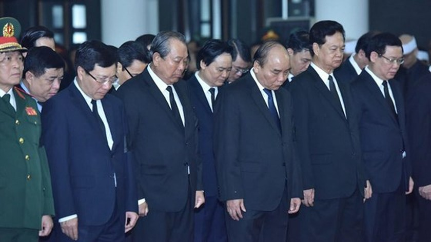 Memorial service of the State funeral for former President General Le Duc Anh ảnh 32